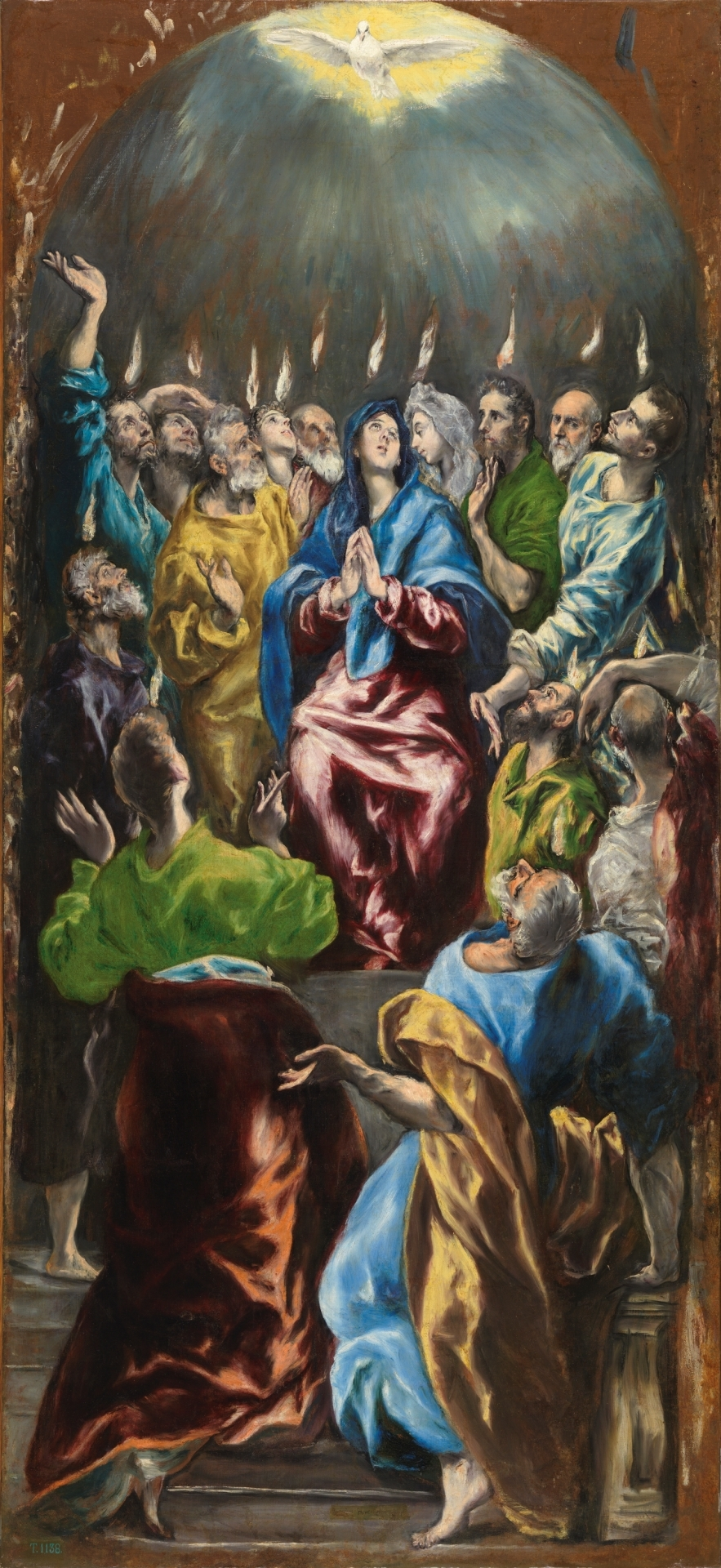 Le Greco - La pentecote, 1596-1600